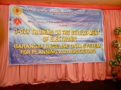 Electronic Barangay Management System