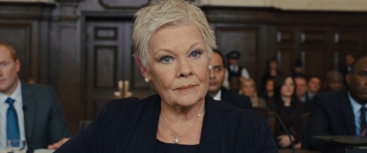"M Portrayed by Judy Dench in James Bond Series ""SkyFall"""