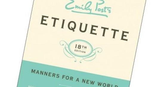 American etiquette guru Emily Post