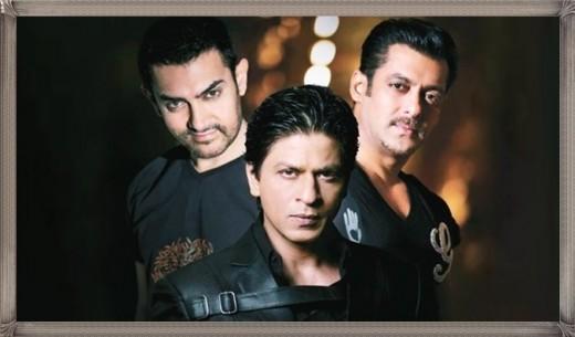The Super Star Khans of Bollywood - Salman Khan, Aamir Khan and Shah Rukh Khan
