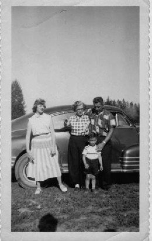 Bill and Parents