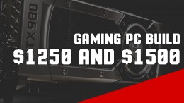 If you have a budget of $1250 to around $1500, what hardware should you purchase for your gaming PC? Here's a look at the parts that I feel give you the most value right now.