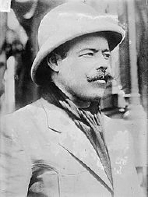 General Villa, whom Wilson favored until a recognition of Carranza as Mexico's leader caused all trust to be lost.