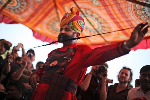 Long Mustache Competition, Pushkar Fair