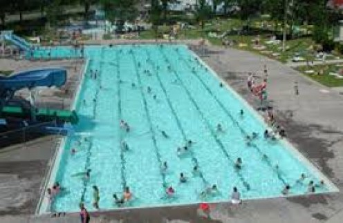 The Electric City Water Park is in Great Fall, Montana and it has the biggest outdoor heated pool in the entire state.
