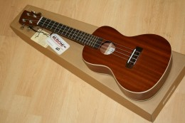Eventually I upgraded to an 18-fret Brunswick BU4C - a great concert uke with a lot of depth and a lot of soul.