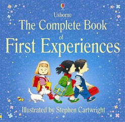 Extended game activity for young children with Usborne's Complete Book of First Experiences