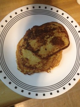 End-pieces disguised as French toast!
