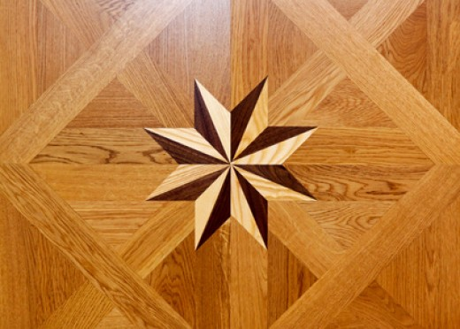 An example of marquetry