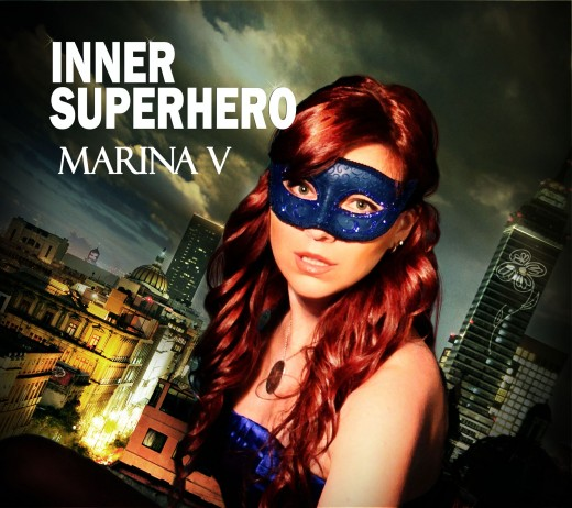 """Showing off her lilting voice, Marina V will have her new album """"Inner Superhero"""" ready for sale by July."""