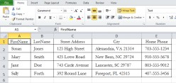 Separating Cell Information in Excel with Left, Right, and Mid Functions