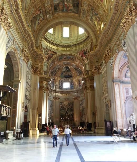 Ornate Roman Basilica