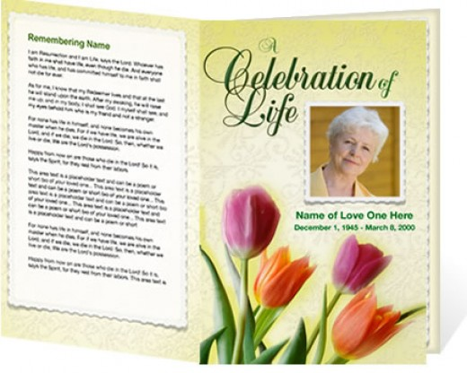Funeral Program Designs Pictures to Pin PinsDaddy – Sample Funeral Programs