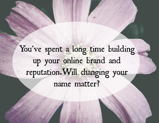 How much does your online business depend on your name?
