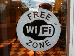Free Wi-Fi zones are easy to find in any country of the world these days
