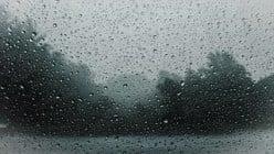 Rain Drops That Constantly Flow
