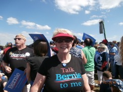 Who has been to one of Bernie's rallies? How did it make you feel?