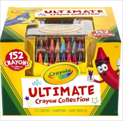 These crayons will keep the kids occupied for a long time!