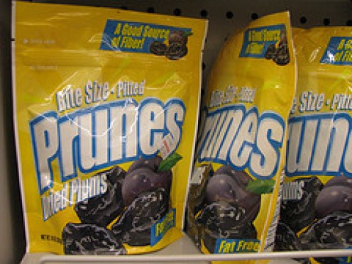Prunes, an essential ingredient