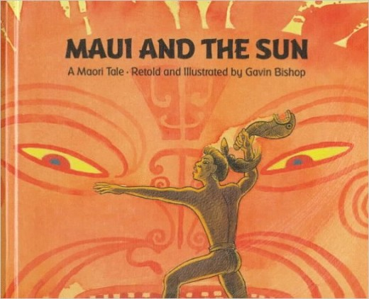 Maui and the Sun by Gavin Bishop - Images are from amazon.com.