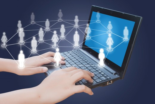 Online communication helps people feel closer even if they are thousands of miles away from each other