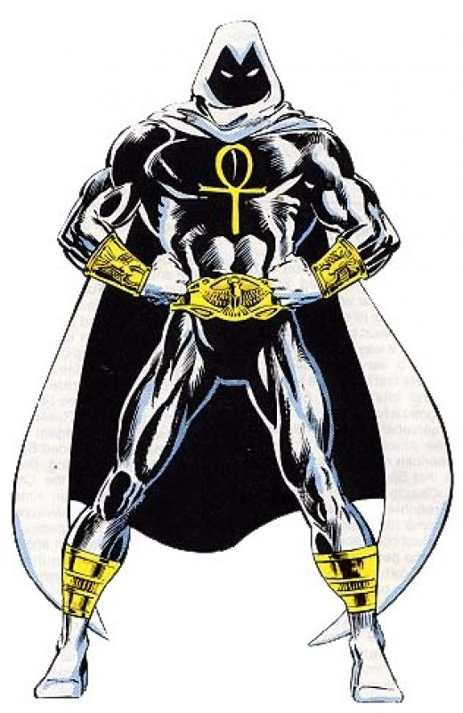 Moon Knight as the Fist of Khonshu
