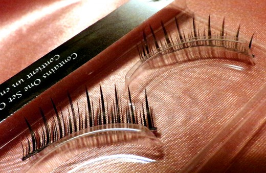 Tweezers are essential for handling and applying false eyelashes.