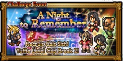 A Night To Remember: A New Final Fantasy VII FF Record Keeper event