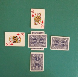 Second Card (North) Turned