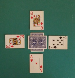 Fourth Card (South) Turned