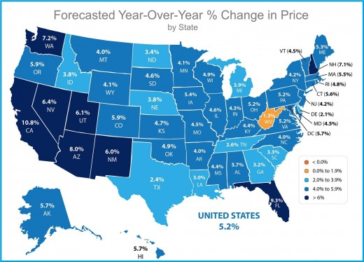 Home Prices Across the US