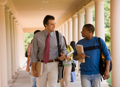 Talking with teachers can help prepare for tests, and improve relations with them as well.