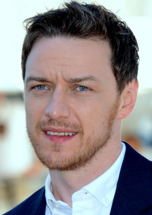 James McAvoy - credentials - played Xavier