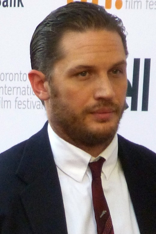 Tom Hardy - credentials - played 'Mad Max'