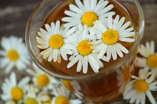 Chamomile is anti-inflammatory and can help prevent scarring.