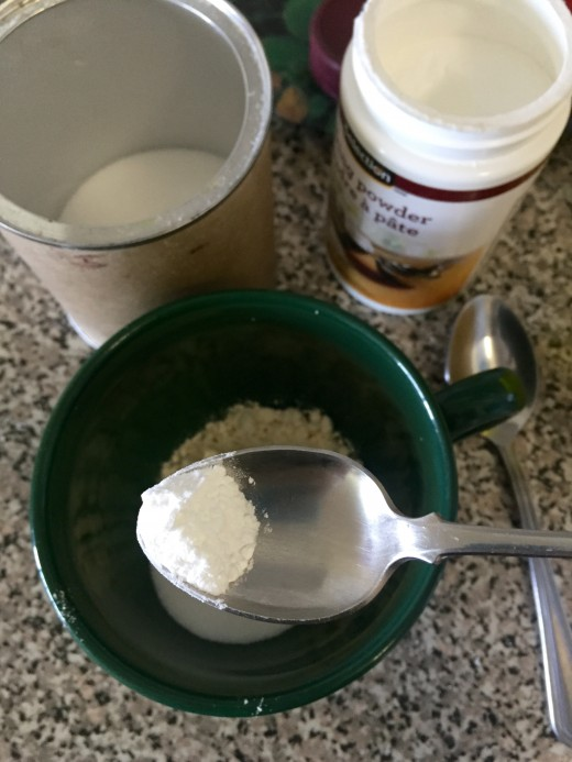 1/3 tsp baking powder
