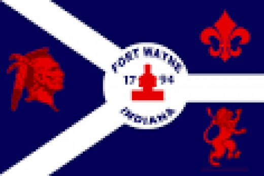 Flag of Fort Wayne