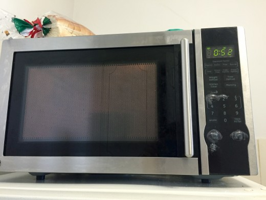 In my microwave, the bread is done in exactly one minute.