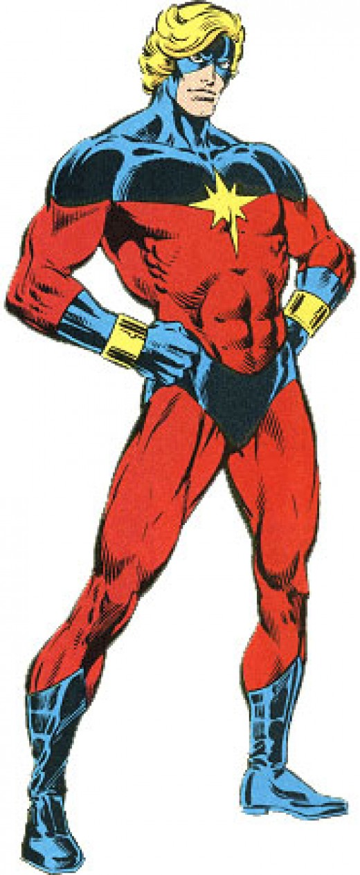 Mar-Vell - Former Kree Spy, Former Protector of the Universe