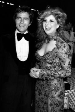 Lieutenant Governor  John Wilder officiates the  private wedding ceremony of  Jim Stafford to Bobbie Gentry  on Oct. 15,  1978   near Memphis