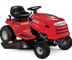 I have a Huskee LT4200. It runs great until the deck is lowered. What could be wrong with it?