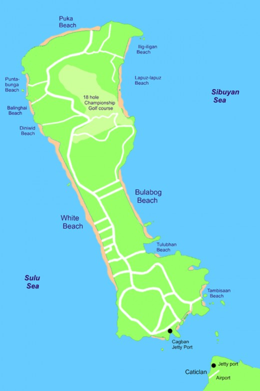 Boracay as the island princess map