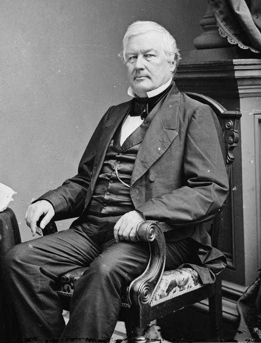 Millard Fillmore By Mathew M. Brady Public Domain