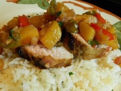 Pork with Pineapple Chutney