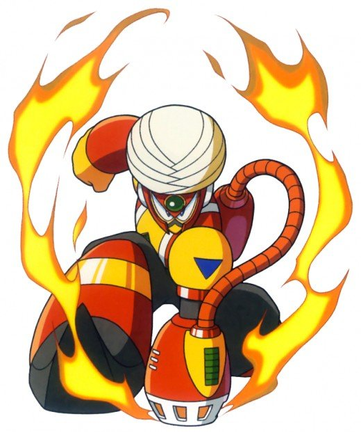 Flame Man represents the country of India.