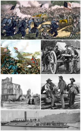 A collection of American Civil War related pictures By Excel23 Public Domain