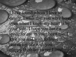 Heart Touching Happy Birthday Wishes for Boyfriend