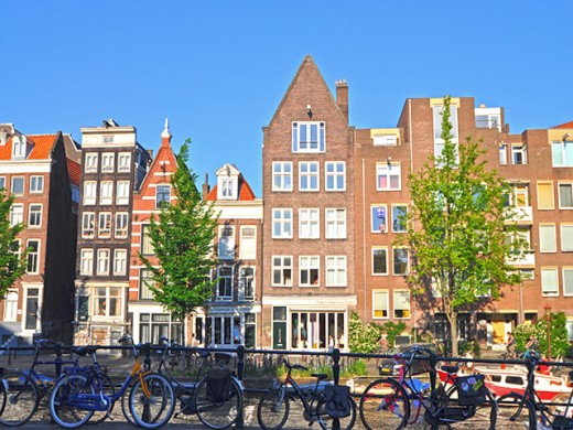 The beautiful city of Amsterdam. My memories of it scarred by the hotel assault incident.