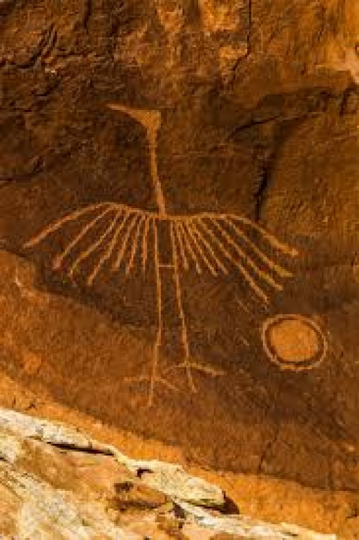example of the petroglyphs which could disappear if actions are not taken to preserve this area