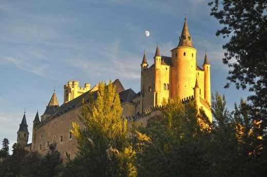 For some, Segovia's Alcazar feels to be a graceful ark resting on a hilltop.